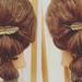 「ロングヘアーアレンジ」で可愛く、簡単にヘアスタイル!!