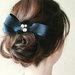 リボンアイテムを使ってまとめ髪美人に。女子力抜群のヘアアレンジカタログ♡