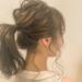 男性受けバツグンのヘアアレンジ・ポニーテールで小顔に見せるテクニック☆