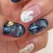 爪にロマンティックな夜空を描け♡ギャラクシーネイルのデザイン集!
