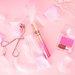 甘〜い雰囲気でふんわり仕上げ! 女の子らしさバツグンのピンクメイクを作るコスメ♡
