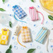 潤う唇に福来るリップクリームinお守り袋『福福リップ』に、日本の初夏をテーマにした爽やかな新柄が登場!