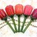 """韓国コスメ《ラビオッテ》の「フロマンスリップカラーシャイン」全5色をレビュー!""""花に似た君へ""""贈るロマンティックなリップカラー"""