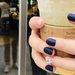 《ネイビーネイル》で秋の指先に透明感♡いろんなカラーを合わせて個性派デザインを楽しもう!