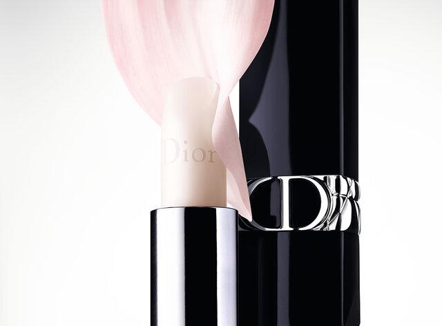 〈Dior 2021春新作コスメ〉唇をケアする無色のリップ『ルージュ ディオール バーム』発売中