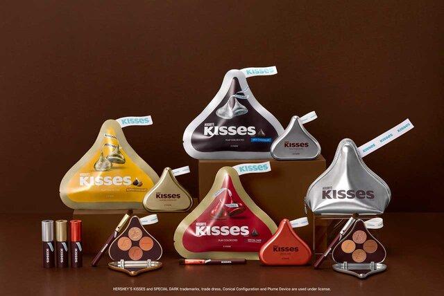 エチュード2021バレンタインコスメ《HERSHEY'S KISSES collection》が登場