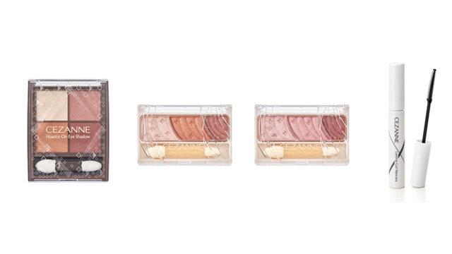 2021秋《セザンヌ》秋色で彩る新色アイシャドウ&マスクの湿気による化粧崩れを防ぐマスカラが新発売