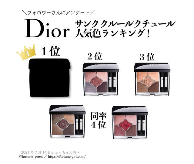 Dior(ディオール)『サンク クルール クチュール』人気色ランキング!第1位は2021年夏の新色♡