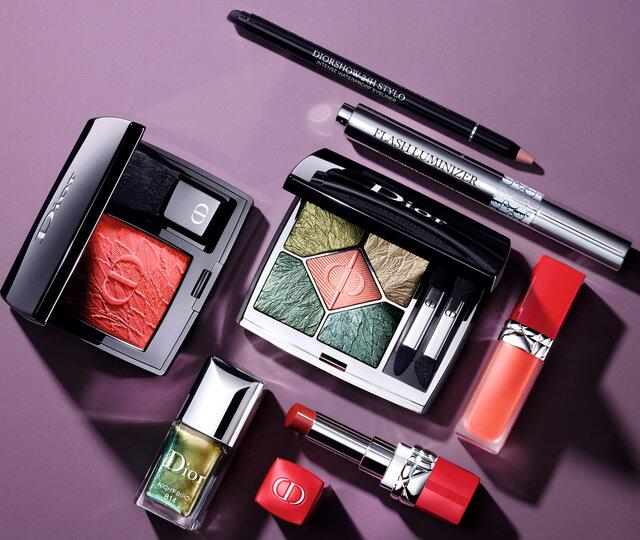 Dior2021秋コレクション〈バーズ オブ ア フェザー〉移ろう繊細な秋色を表現したコスメ先行発売