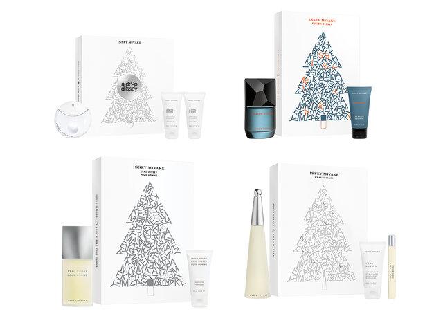 《2021クリスマスコフレ》イッセイ ミヤケ パルファム|4つの香りから選べるオードトワレたち