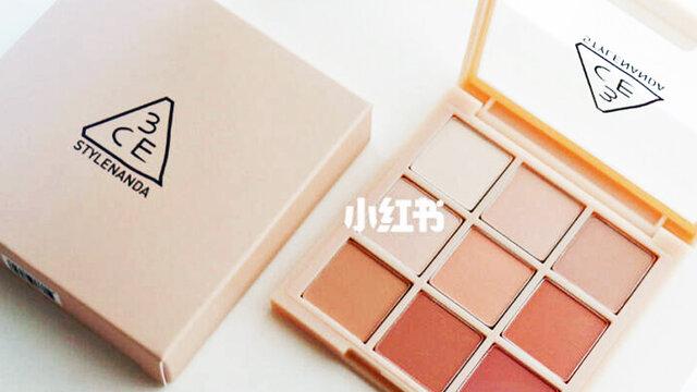 韓国コスメ『3CE マルチ アイ カラー パレット』休日から会社メイクにも。捨て色なしで有能すぎ!