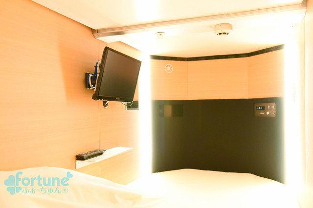 カプセル個室写真1
