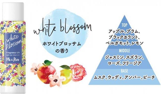 フレグランスUV ホワイトブロッサムの香り