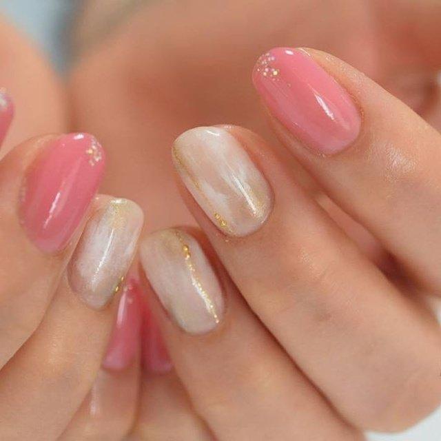 ピンク和柄