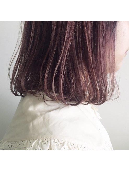 マニッシュなモーブピンク