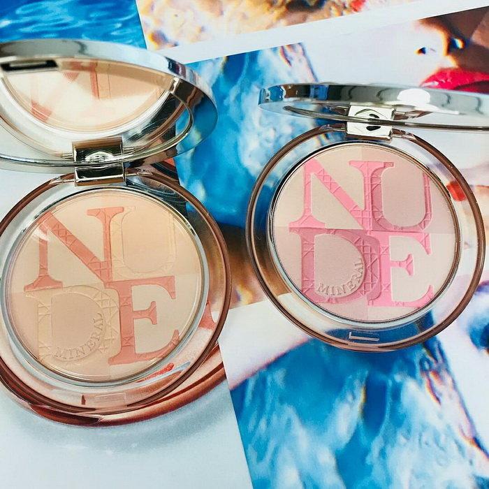 ディオールスキン ミネラル ヌード グロウ パウダー 2018夏 Dior アイシャドウ 新作コスメ 夏コスメ アイメイク ディオール