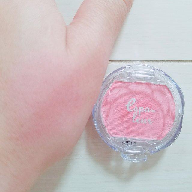 パウダーチーク:ピンク
