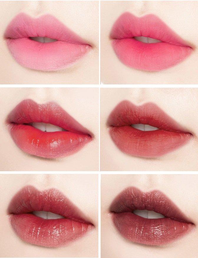 ディアマイ ブルーミング リップトーク フリックローズ キス エディション ピンク ベージュ プラム