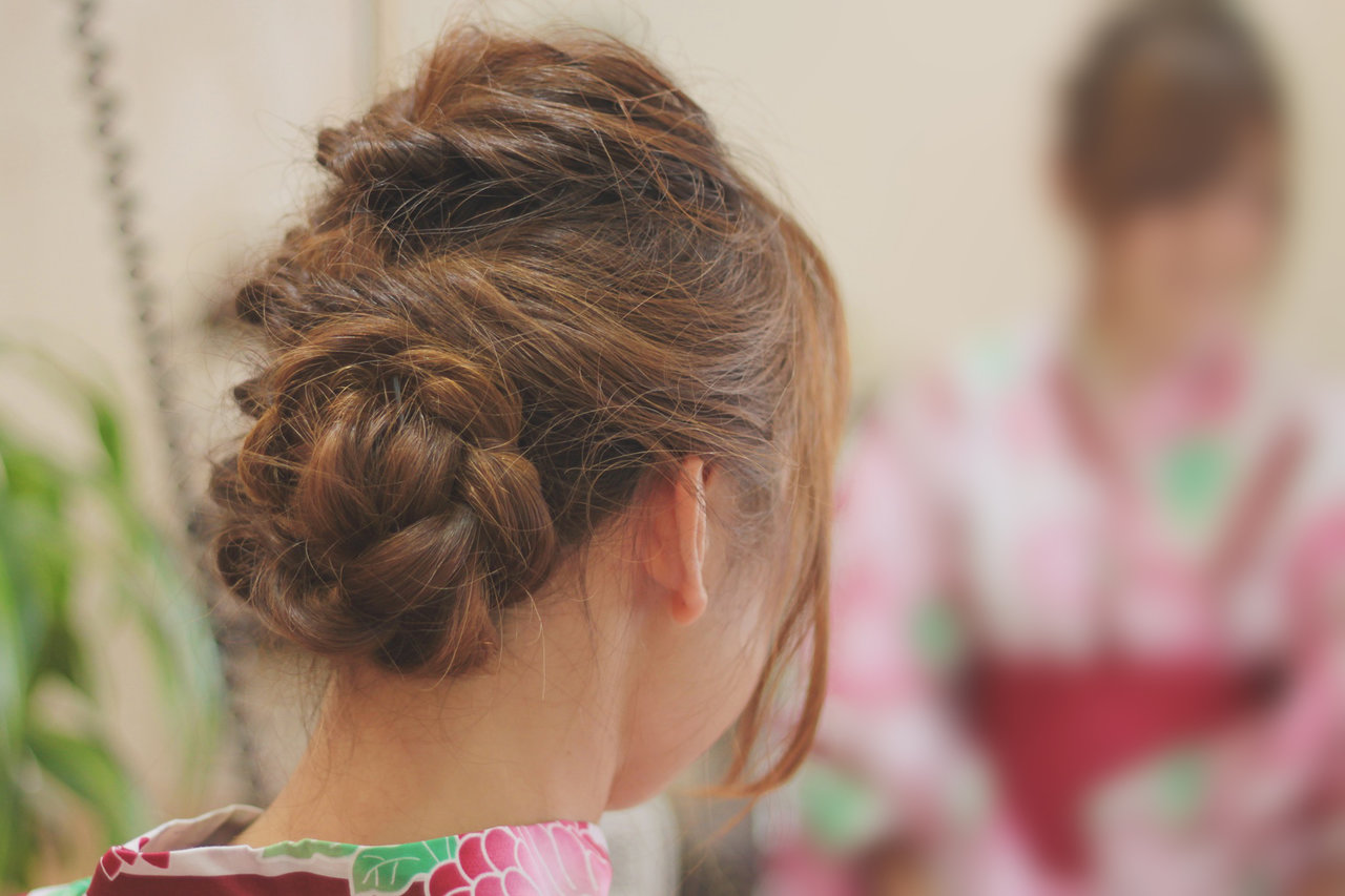 女の子 髪の毛