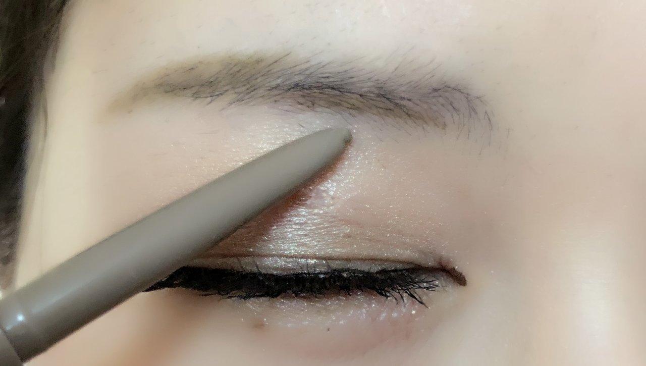 自撮り 立体眉 眉毛visee ヴィセ アイブロウ ソフト&スリム アイブロウペンシル プチプラコスメ