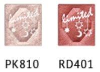 エスプリーク シャドウ セレクト アイカラー PK810 RD401