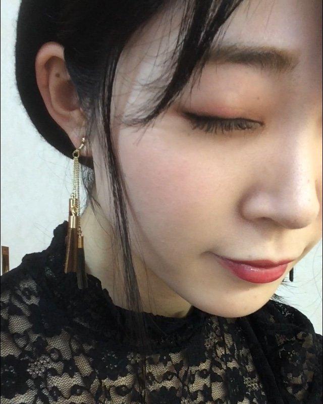 アイメイク 秋メイク 赤メイク