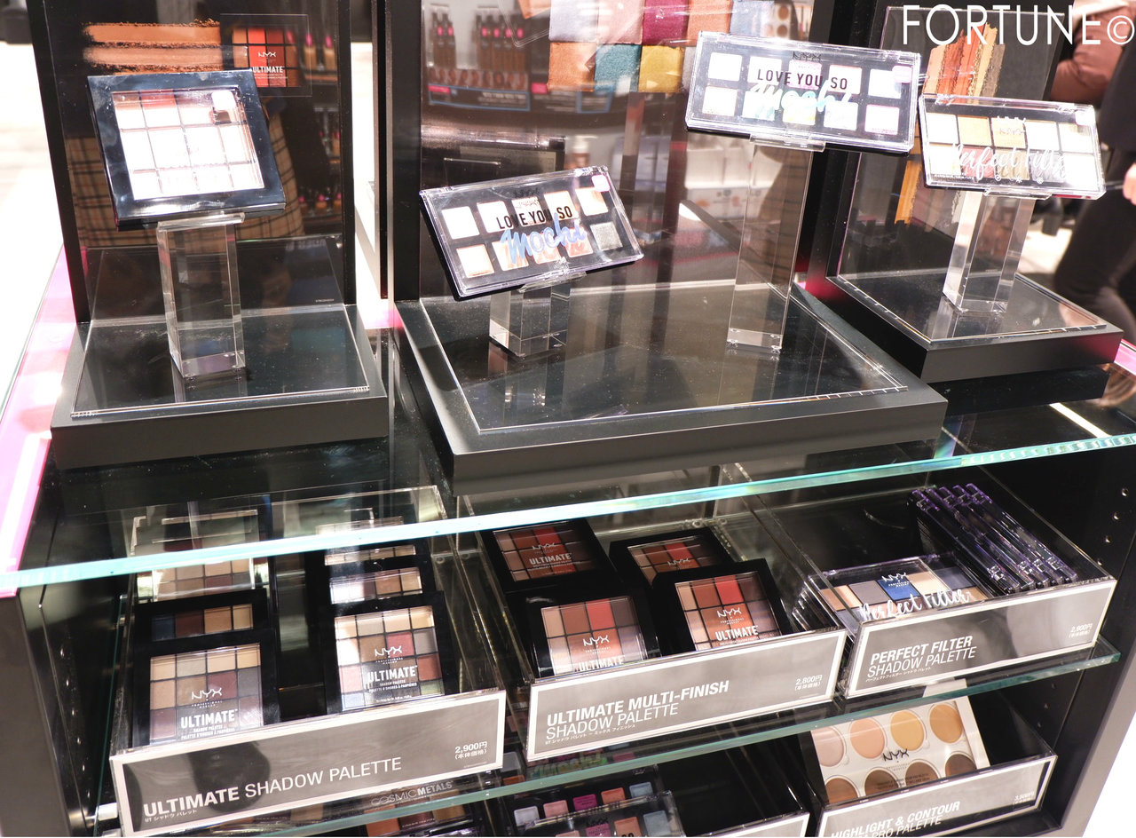NYX(ニックス) NYX Professional Makeup ルクア大阪店 西日本初 アイシャドウ