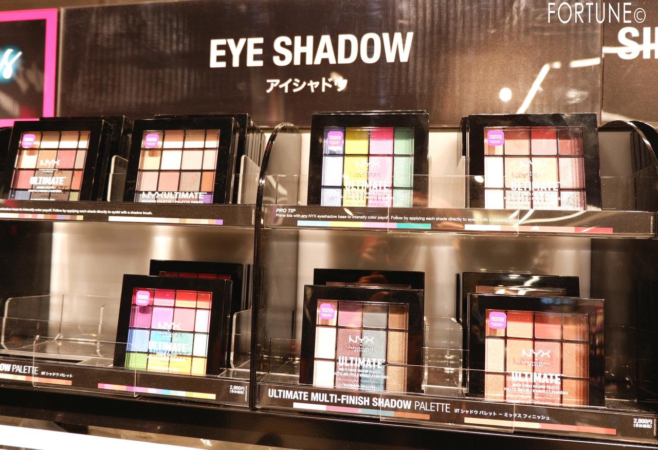 NYX(ニックス) NYX Professional Makeup ルクア大阪店 西日本初 UTシャドウパレット