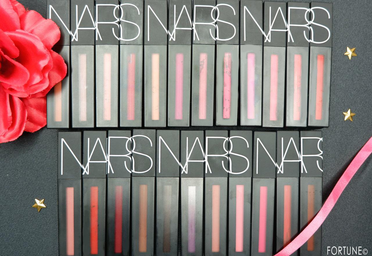 NARS(ナーズ) パワーマットリップピグメント 全色