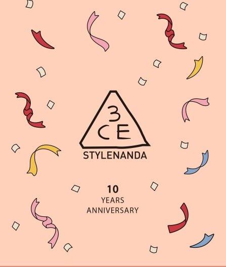 3CE 10周年 アニバーサリー