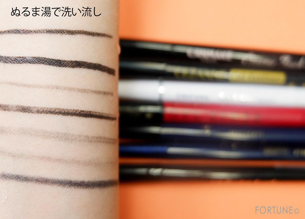 人気プチプラブランドのアイライナーを徹底比較!色持ちを検証してみた