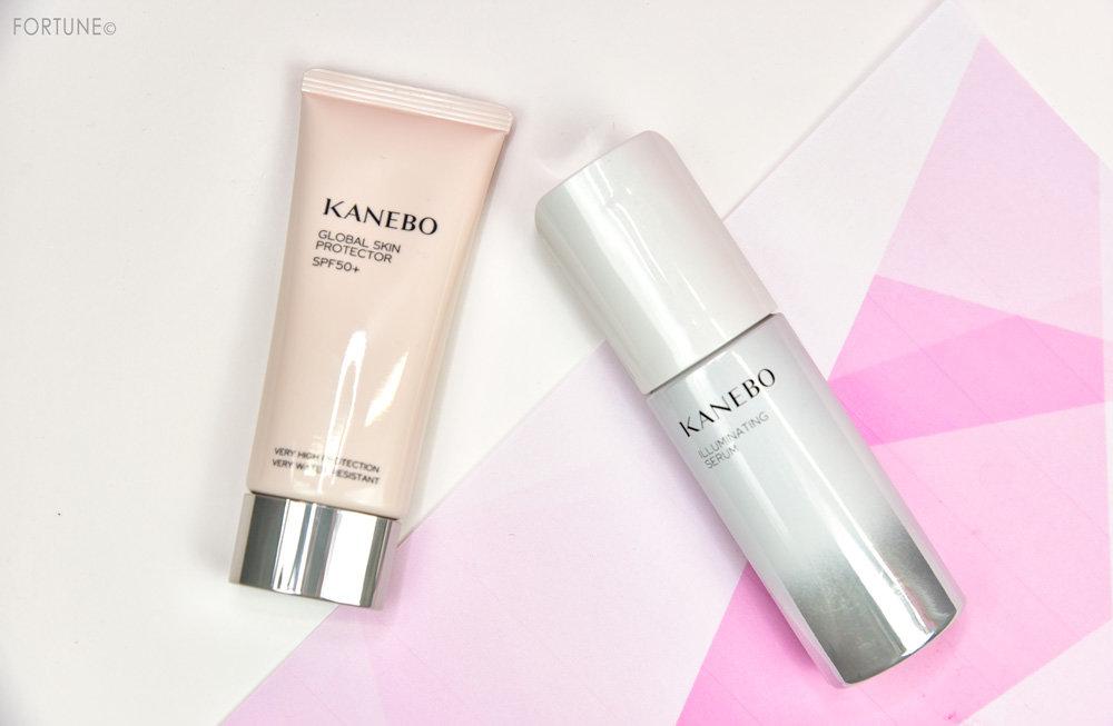 KANEBO(カネボウ)イルミネイティング セラム(医薬部外品)・グローバル スキン プロテクター SPF50+・PA++++