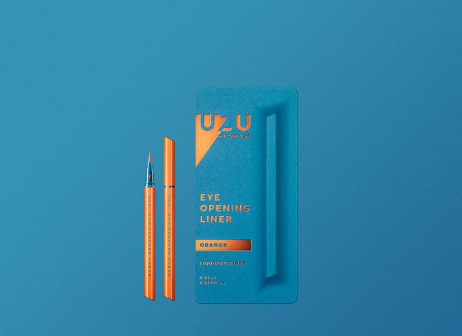 UZU BY FLOWFUSHI ウズ バイ フローフシ アイオープニングライナー オレンジ