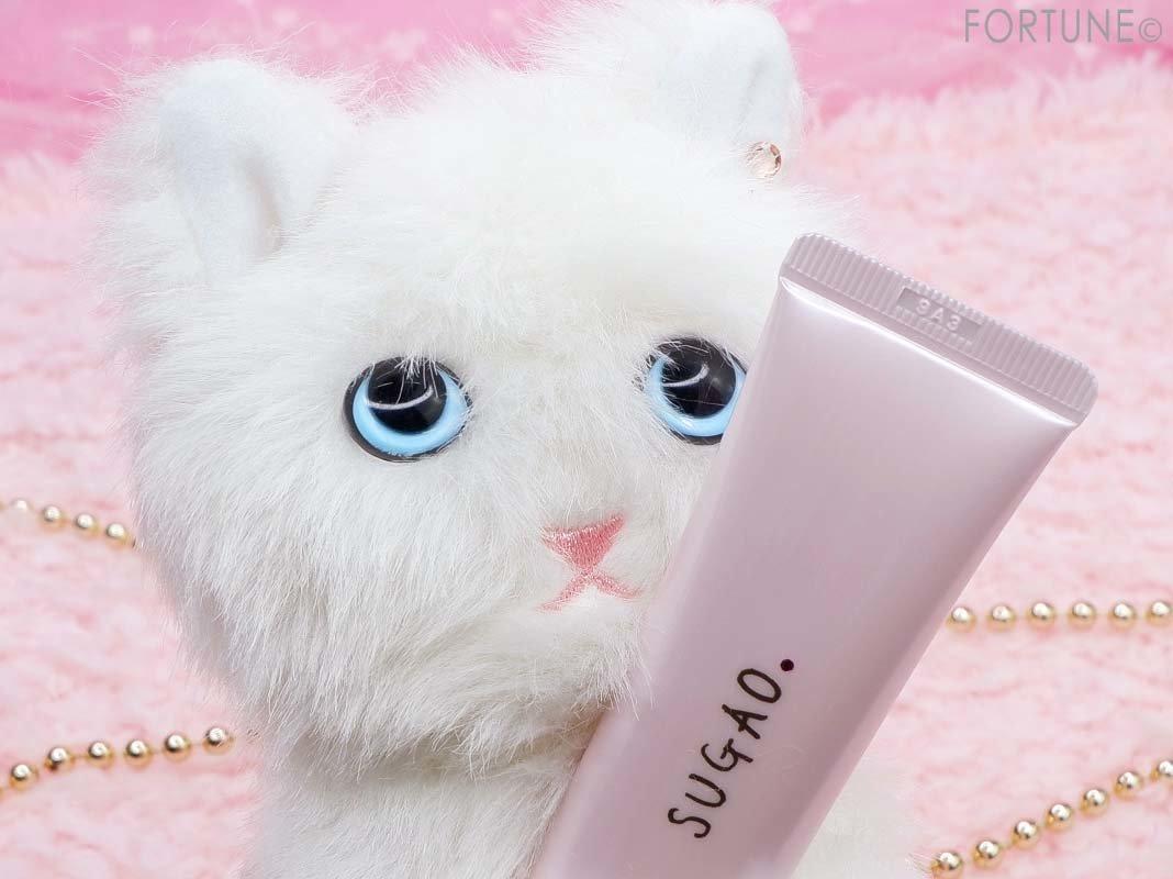 SUGAO(スガオ)「スノーホイップクリームピンクホワイト シロネコ」