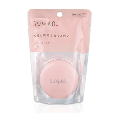 SUGAOのシフォン感パウダー