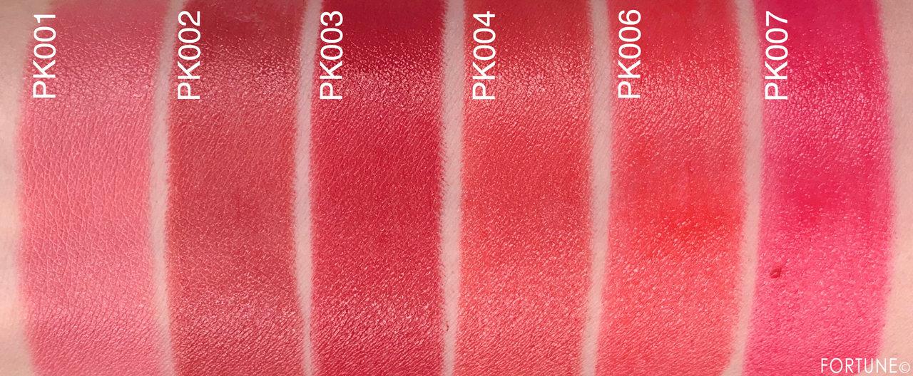 画像:エチュードハウス 新作 ベターリップトーク ピンク系