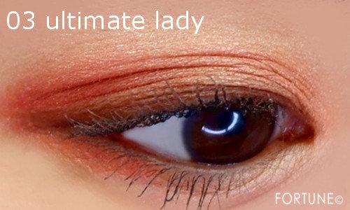 ジルスチュアート「エターナルクチュール アイズ ベルベット」 03 ultimate lady