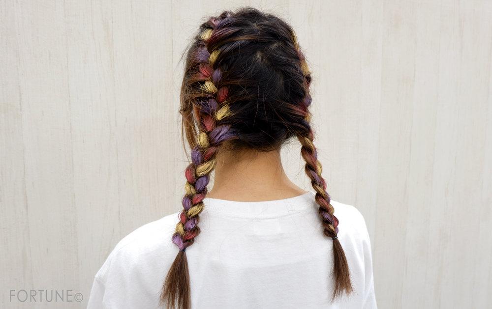 画像:ビナ薬粧/ハデ髪カラーワックス