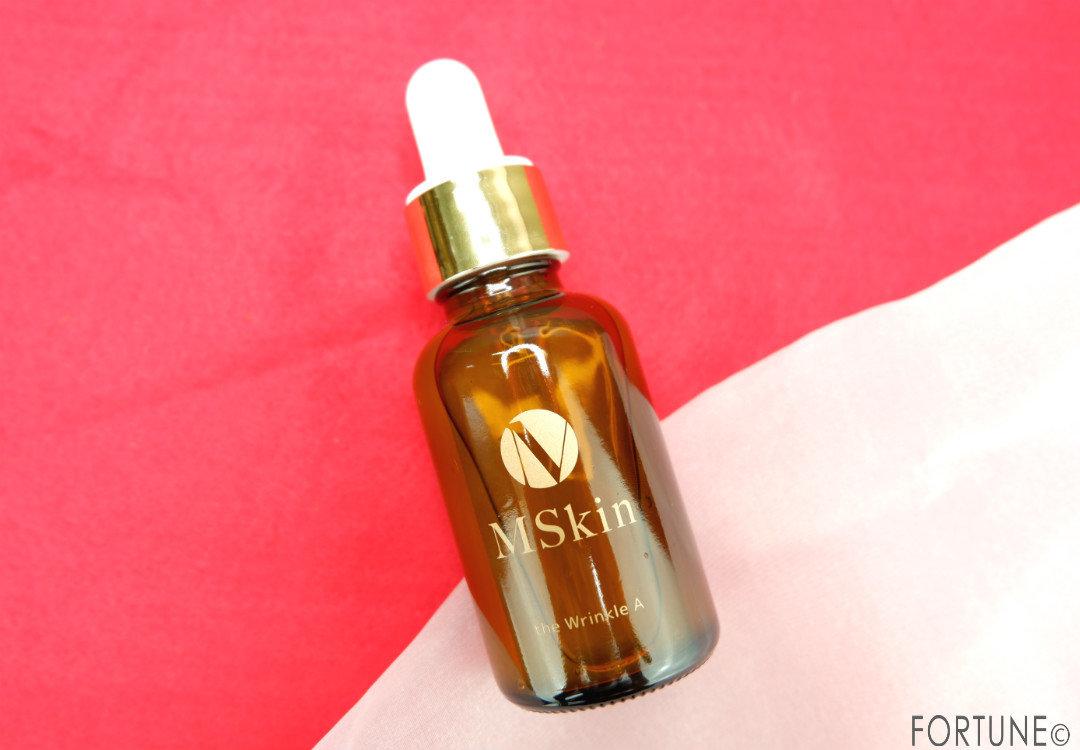 画像:MSkin(エムスキン)  ザ リンクルA シワ改善美容液