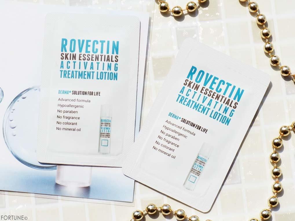 ROVECTIN(ロベクチン)「ロベクチン エッセンシャル トリートメントローション」 サンプル