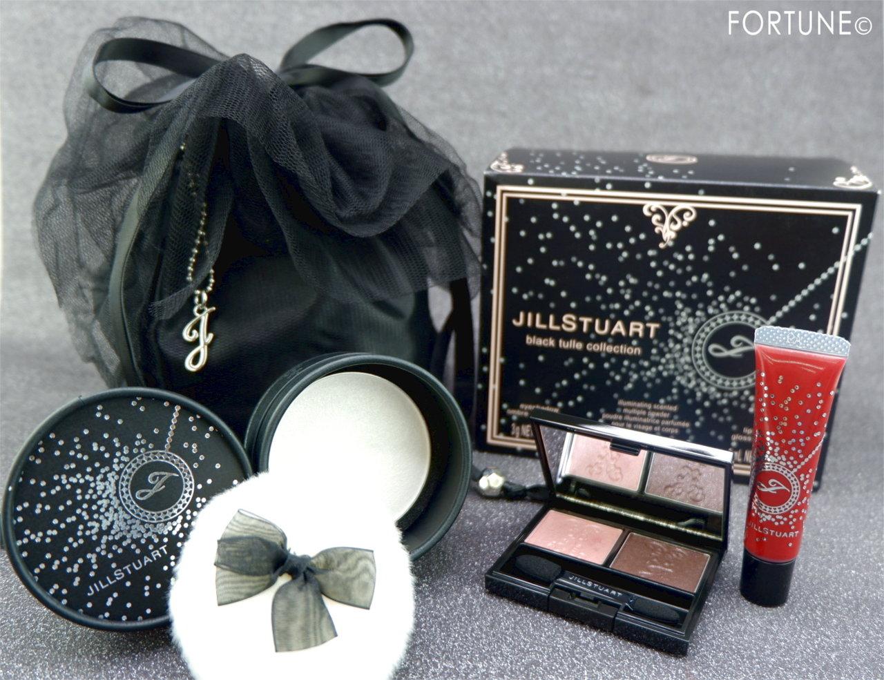 ジルスチュアート<My black dress>2019クリスマスコフレ「ブラックチュール コレクション」