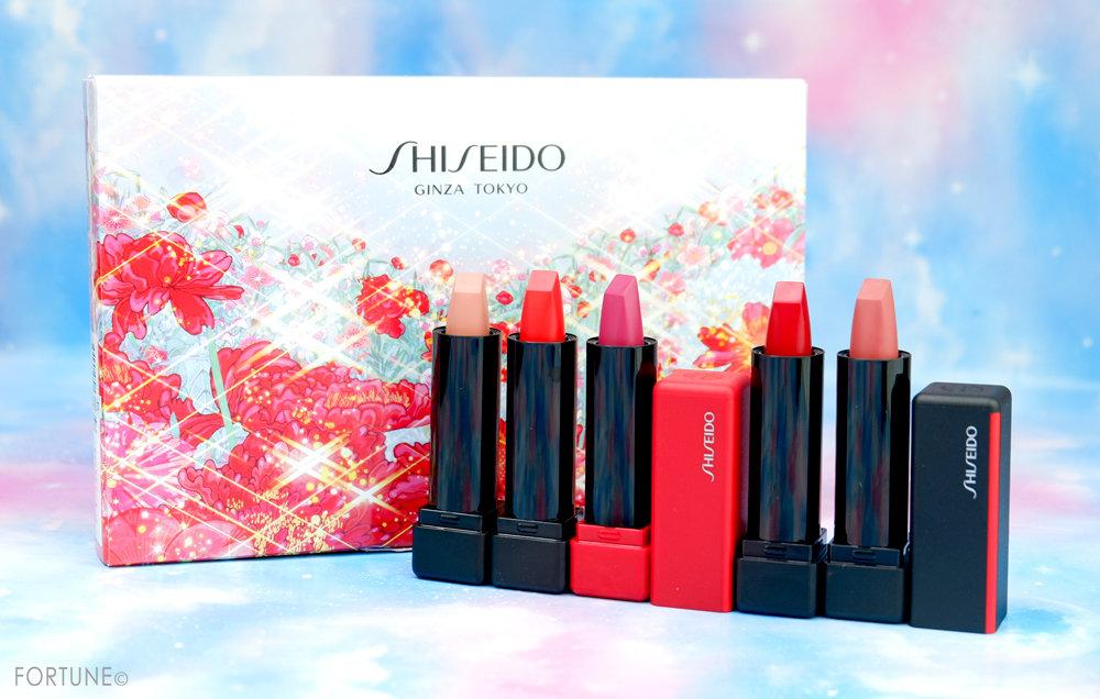 コスメカレンダー:SHISEIDO「ホリデーカラーズ ミニリップブーケ」