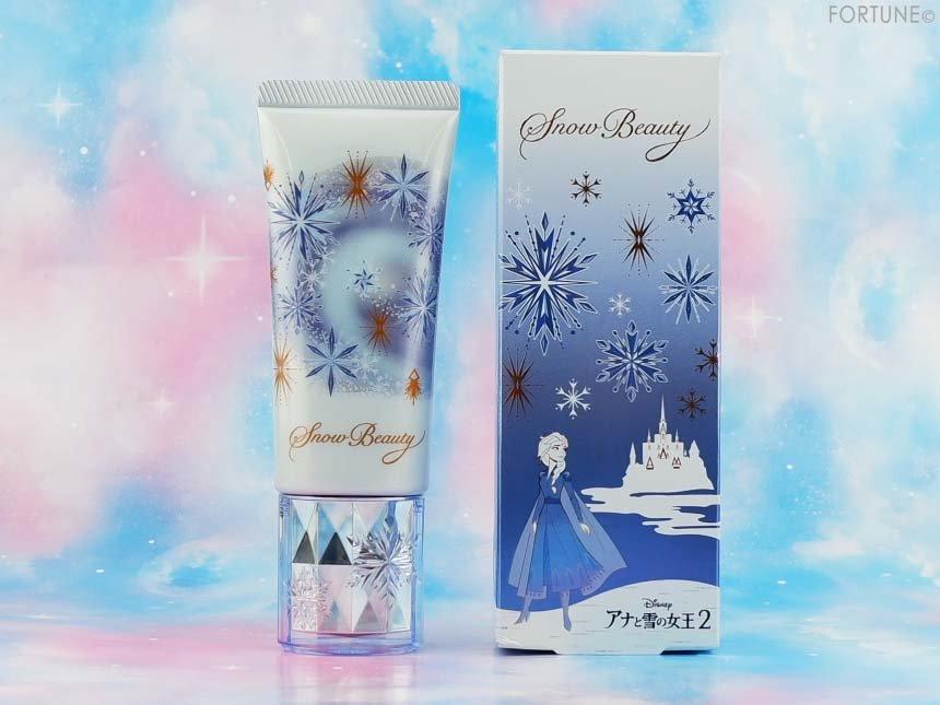 画像:資生堂「アナと雪の女王2」限定デザイン商品 スノービューティー「ホワイトニング トーンアップエッセンス」