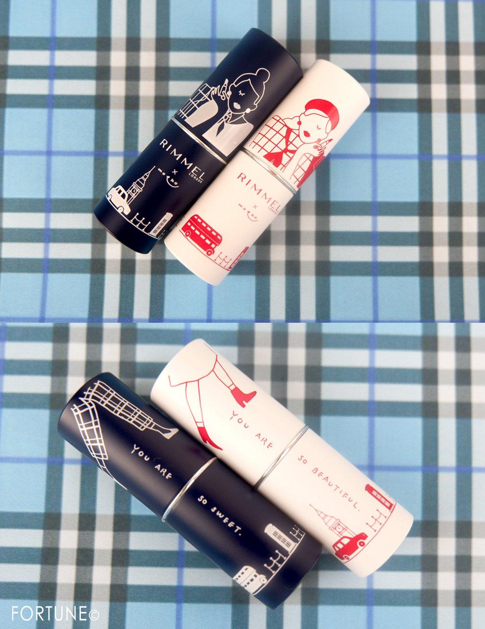 《リンメル×moeko》11/1発売マシュマロルック リップスティックMO