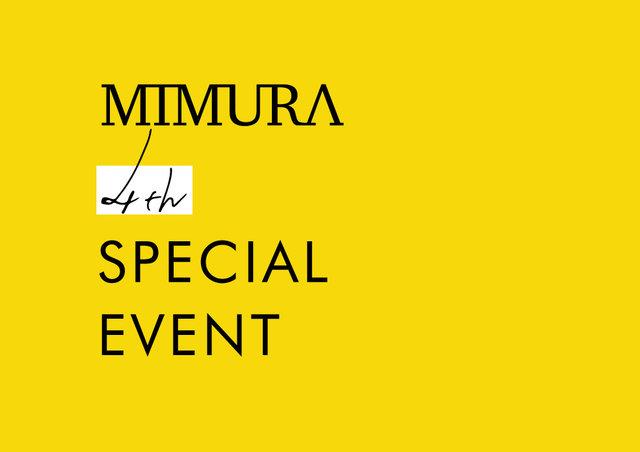 画像/MIMURA 4th SPECIAL EVENT