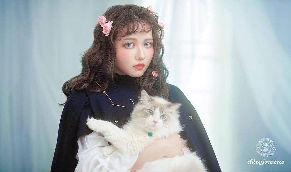 魔女コスメ 薔薇の魔女アイシャドウパレット