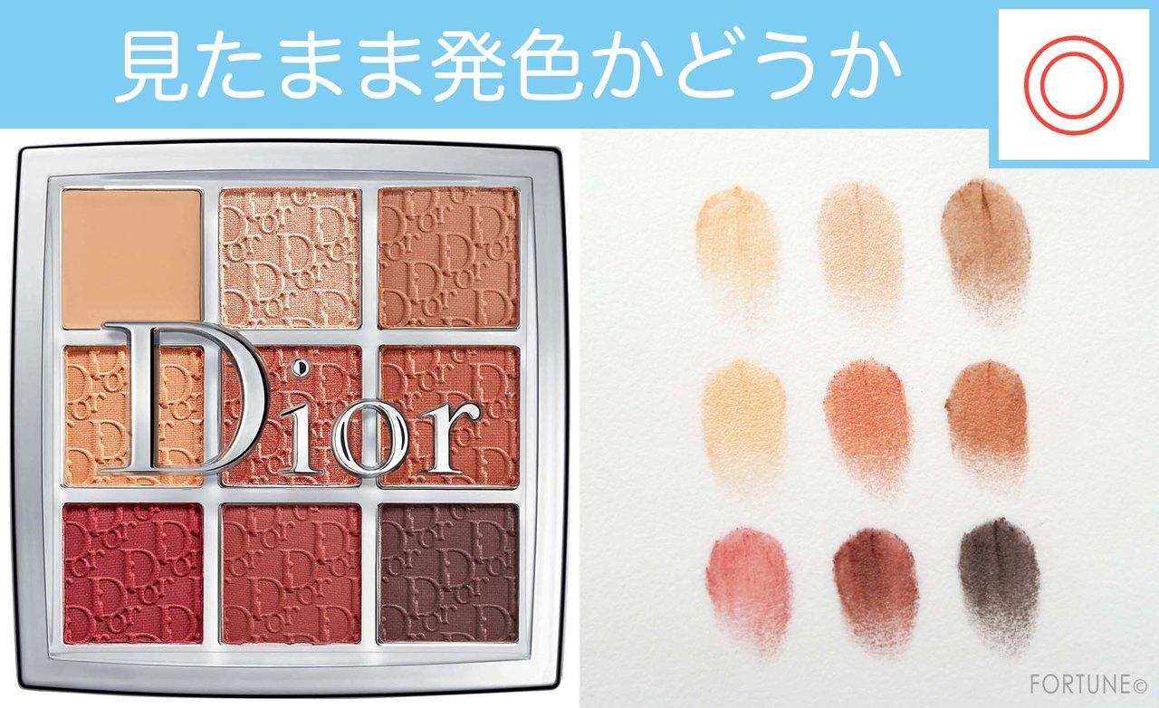 ふぉーちゅんコスメ検証:アイシャドウパレット Dior(ディオール)「バックステージ アイ パレット」