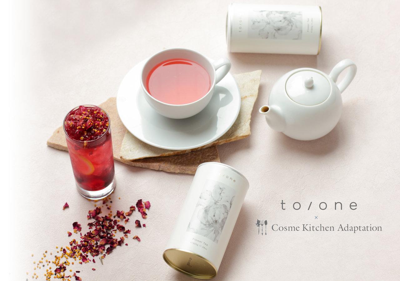 Cosme Kitchen Adaptation × to/one(トーン) スペシャルコラボドリンク