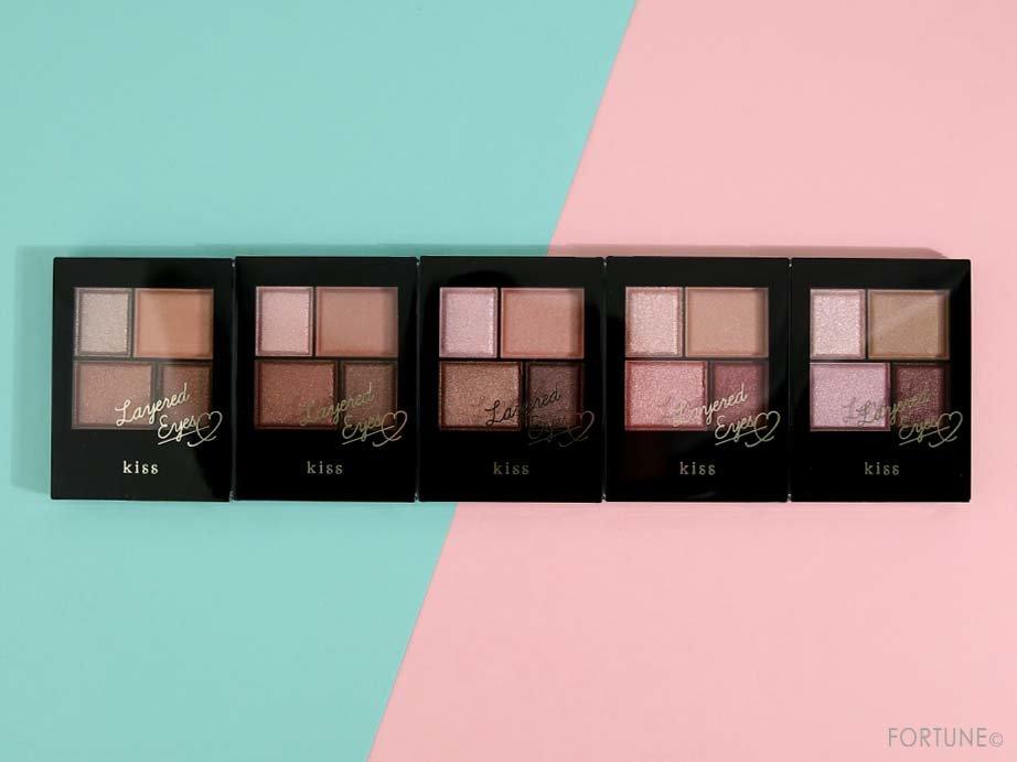 画像:kiss(キス)「レイヤードアイズ」全5色