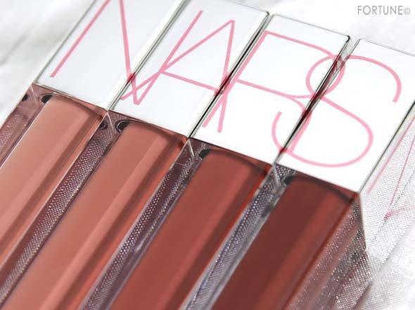 画像:NARS(ナーズ)「ローデッド リップラッカー」全4色
